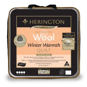 Wool Winter Warmth Quilt by Herington