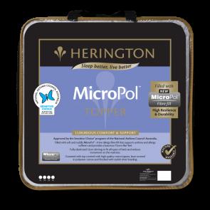 MicroPol King Single Matterss Topper by Herington