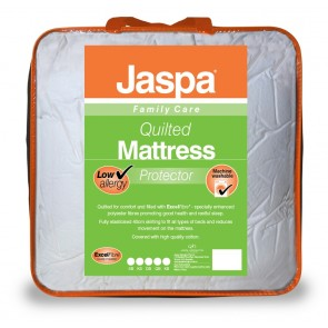 Quilted Double Mattress Protector by Jaspa