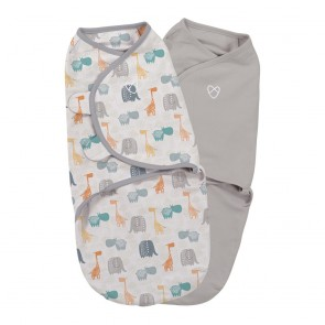 Original Bohemian Jungle 2Pk Small Swaddle by Summer Infant