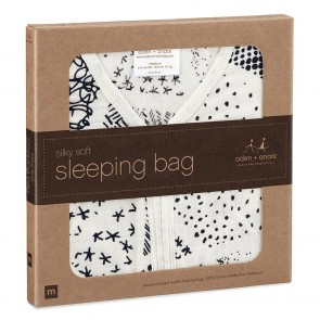Midnight Silky Soft Sleeping Bags by Aden and Anais