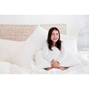 All Around Goose Feather & Down Euro Pillow by MM Linen