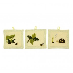 Wild Things 3 Piece Wall Hanging by Amani Bebe