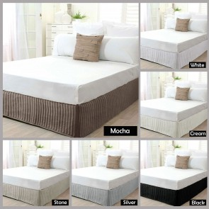 Quilted King Valance by Ardor
