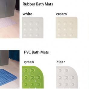 PVC Bath Mats by Bambury