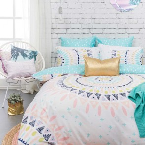 Tulum Quilt Cover Set by Bambury