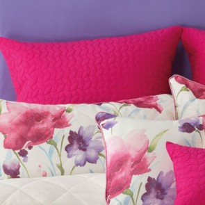 Anastacia European Quilted Pillowcase by Bianca