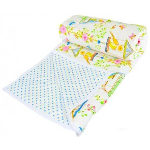 BlueBird Baby Comforter by Lullaby Linen