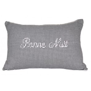 Cameo Bonne Nuit Cushion by Lullaby Linen
