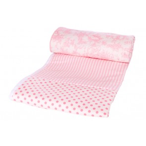 Pink Toile Kids Bedding by Lullaby Linen