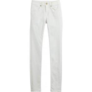 Denim & Co White Cotton Chinos