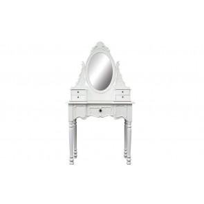 Dressing Table 5 Drawers With Mirror by Living Good
