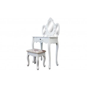 Dressing Table With 3 Mirrors & Stool 04 by Living Good