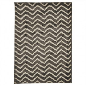 Egyptian Made Moroccan Chevron Design Rug by Unitex