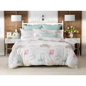 Laila Vivid Coordinates European Pillowcase by Bianca