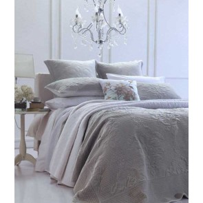Florentina Silver Grey Bedspread Set by MM Linen