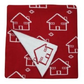 Little House 100% Cotton Pram/Bassinet Blanket by Jacob & Bonomi