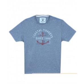 Next Coastal Pioneers Grey T-Shirt
