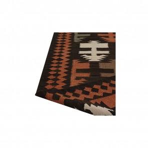 Nomadic Charm Indian Dart Kilim Rug by Rug Culture