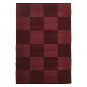 Plaid Check Wool Rug by Rug Culture