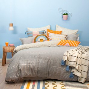 Nomad Super King Quilt Cover Set By Bambury