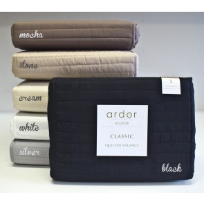 Quilted Valance by Ardor