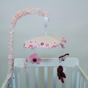 Raspberry Garden Baby Bedding by Amani Bebe