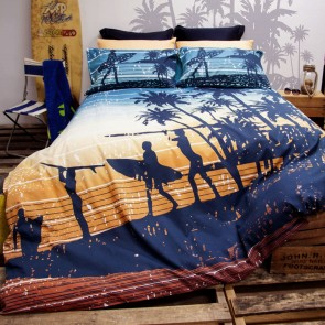 Sunset Quilt Cover Set by Retro Home