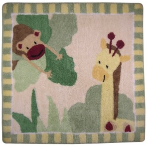 Zoofari Rug by Lambs & Ivy