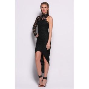 Saba Black Dress Front