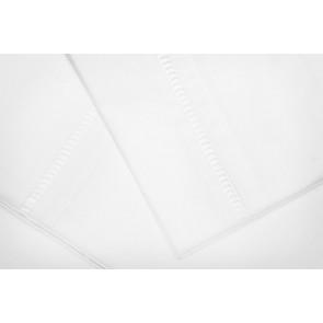 Rasberry Stripe Double Sheet Set by Lullaby Linen