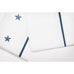 Stars & Stripes Sheet Set by Lullaby Linen