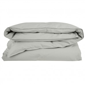 Stone Wash Percale Oyster Quilt Cover Set by Scout