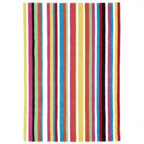 Teens Rainbow Stripes Kids Rug by Unitex