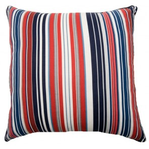 Traffic Jam Square Cushion by Lullaby Linen