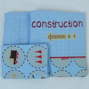 Under Construction Cot Sheet Set by Amani bebe