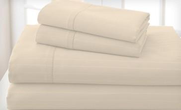 Pebble 1200TC Cambridge Stripe Sheet & Quilt Cover Set by Royal Living