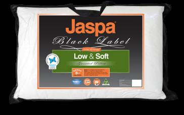 Low & Soft Pillow by Jaspa Black