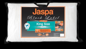 King Size Pillow by Jaspa Black