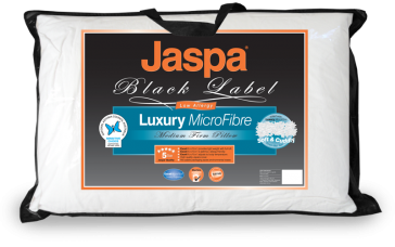 Luxury Microfibre Pillow by Jaspa Black