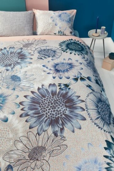 Oilily Sunflowers Blue Quilt Cover Set by Bedding House