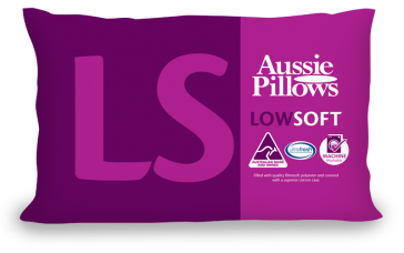 Low & Soft Aussie Pillows by Jaspa