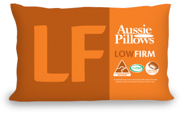 Low & Firm Aussie Pillows by Jaspa