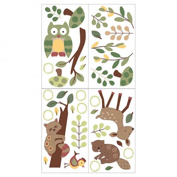 Enchanted Forest Wall Applique by Lambs N Ivy