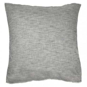 """Belmont"""" Euro Pillowcase- Soot"""