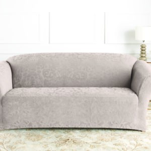 STRETCH JACQUARD DAMASK SOFA COVER