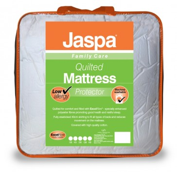 Quilted Single Mattress Protector by Jaspa