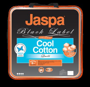 Cool Cotton Queen Quilt by Jaspa Black