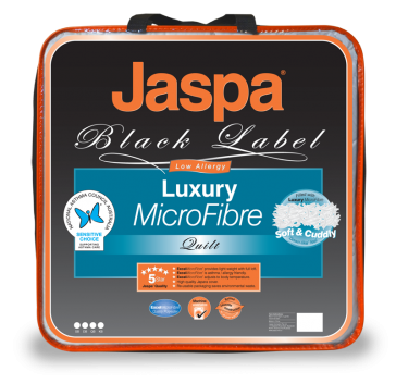 Luxury Microfibre King Quilt by Jaspa Black