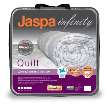 MicroPol Luxurious Warmth Super King Quilt by Jaspa Infinity